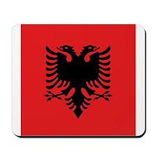 Flag of Albania Mousepad