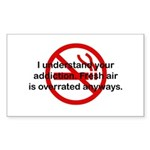 I Understand Your Addiction Rectangle Sticker
