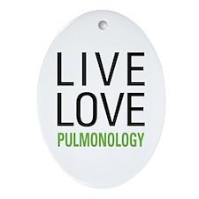 Pulmonology Ornament (Oval)