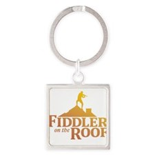 Cute Roofing Square Keychain