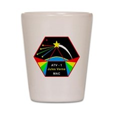 ATV-1 Jules Verne Shot Glass