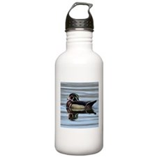 Male Wood Duck Stainless Water Bottle 1.0l