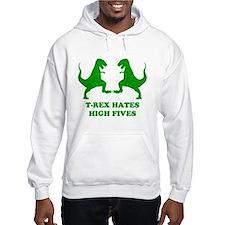 T Rex Hates High Fives Hoodie