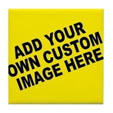 Add Your Own Custom Image Tile Coaster