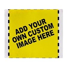 Add Your Own Custom Image Throw Blanket