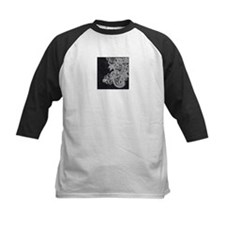 Black and White Decorative Baseball Jersey