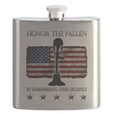 Honor The Fallen Flask