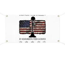 Honor The Fallen Banner