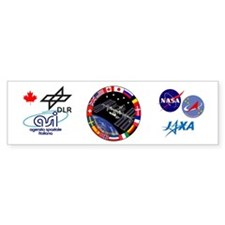 ISS Program Composite Bumper Sticker