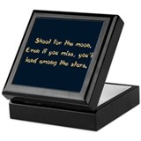 Shoot for the Moon Keepsake Box
