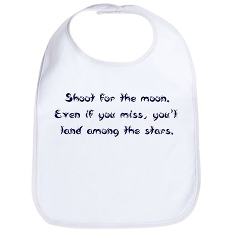 Shoot for the Moon Bib