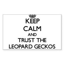 Keep calm and Trust the Leopard Geckos Decal
