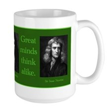 Leibniz & Newton Coffee Mug