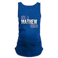 Its A Mathew Thing Maternity Tank Top