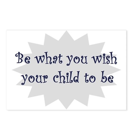 Be what you wish... Postcards (Package of 8)