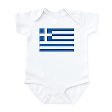 Greece Flag Infant Bodysuit