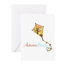 Autumn Breeze Greeting Cards