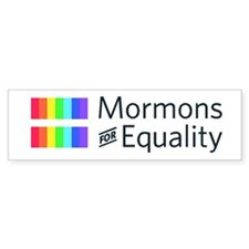 Mormons For Equality Bumper Sticker (50 Pack)