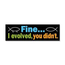 Funny Religious science Car Magnet 10 x 3