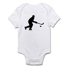 Hockey player puck Infant Bodysuit