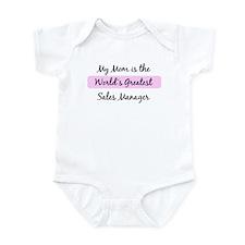 Worlds Greatest Sales Manager Infant Bodysuit
