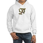 Phyllis Initial A Hooded Sweatshirt