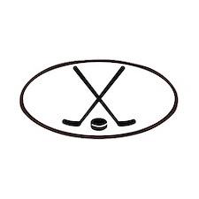 Hockey sticks puck Patches