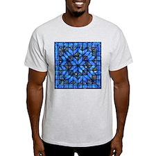 Blue Paisley Quilt T-Shirt