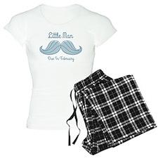 Mustache LM Feb Pajamas