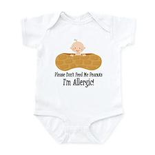 Peanut Allergy Awareness Body Suit
