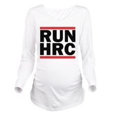 Run HRC Long Sleeve Maternity T-Shirt