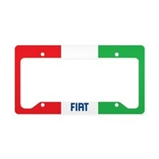 Frame - Fiat / Italy Flag License Plate Holder