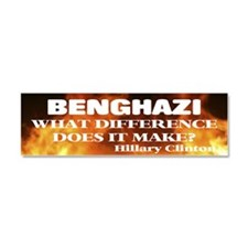 Benghazi What Difference Does It Make? Car Magnet
