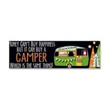 Funny Camp Car Magnet 10 x 3