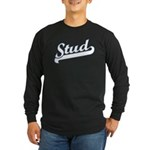 Stud Long Sleeve Dark T-Shirt
