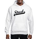 Stud Hooded Sweatshirt
