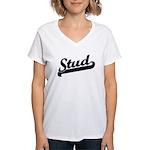 Stud Women's V-Neck T-Shirt