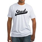 Stud Fitted T-Shirt