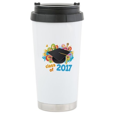 2017 graduation Stainless Steel Travel Mug