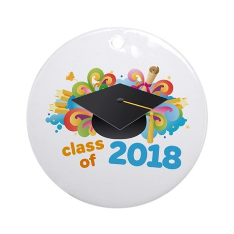 2018 graduation Ornament (Round)