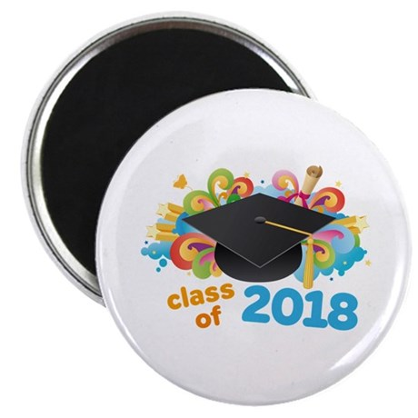 2018 graduation Magnet