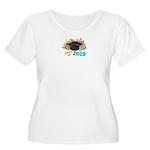 2019 graduati Women's Plus Size Scoop Neck T-Shirt