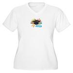 2019 graduation Women's Plus Size V-Neck T-Shirt