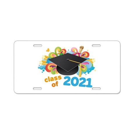 2021 graduation Aluminum License Plate