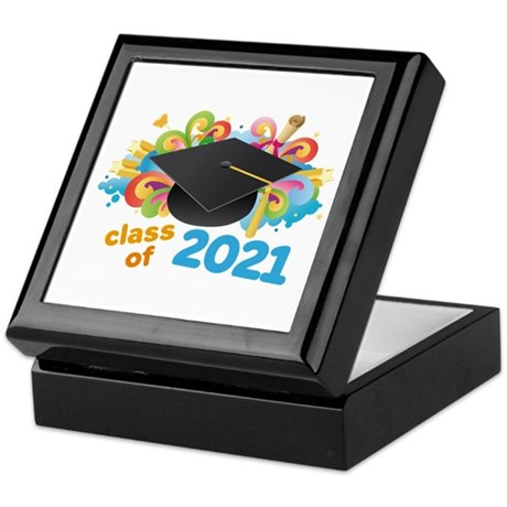 2021 graduation Keepsake Box