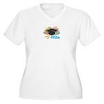 2024 graduation Women's Plus Size V-Neck T-Shirt