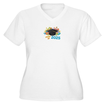 2025 graduation Women's Plus Size V-Neck T-Shirt