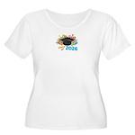 2026 graduati Women's Plus Size Scoop Neck T-Shirt