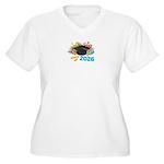 2026 graduation Women's Plus Size V-Neck T-Shirt