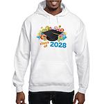 2028 graduation Hooded Sweatshirt